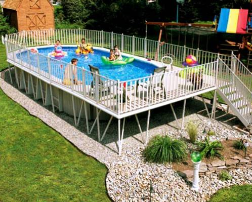 Above ground pools comparison for Above ground swimming pools nz